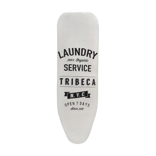 Tribeca Ironing Board Cover - Cream/Black