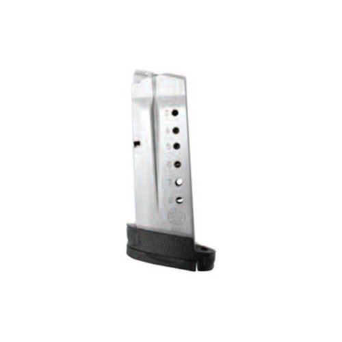 Smith & Wesson 19934 Magazine 40Sw 7 Rounds, Stainless Withfinger Rest Shield