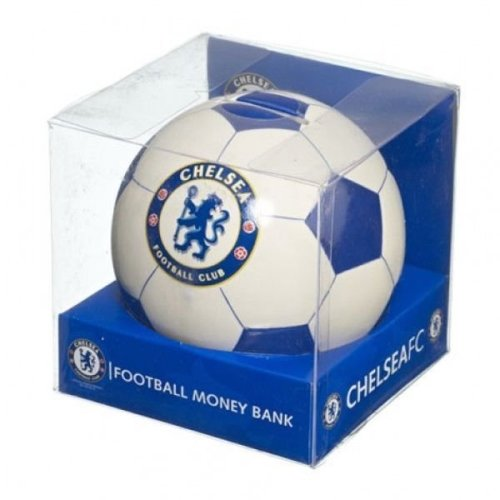 Chelsea FC Football Money Bank - Chelsea Money Box -With Defects