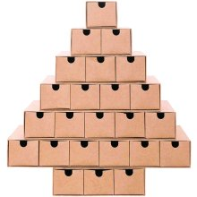 DIY Advent Calender Tree Design Fill Yourself with 24 Mini Drawers