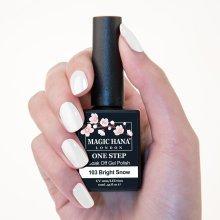 Magic Hana One Step UV LED Gel Polish White?103 Bright Snow