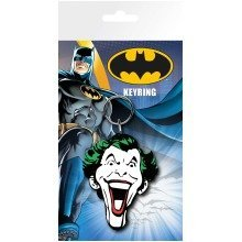 Batman Comic Joker Face Keyring
