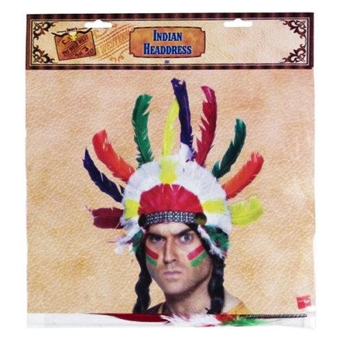 Smiffys Unisex Native American Inspired Headdress - indian headdress fancy mens native costume accessory feather  sc 1 st  OnBuy & Smiffys Unisex Native American Inspired Headdress - indian headdress ...