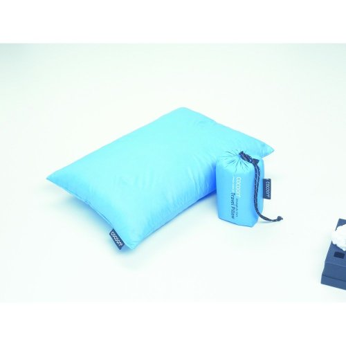 Cocoon Goose Down Pillow (Small) (Blue)