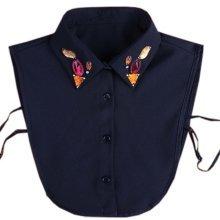 Sweet Detachable Collar False Collars Women's Fake Half Shirt for Sweater, # 03