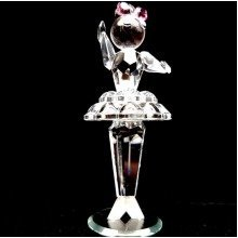 Cut Crystal Ballerina Dancer Ornament