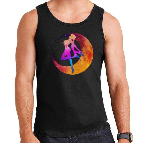 Sailor Moon Silhouette Multi Coloured Men's Vest